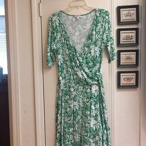 CAbi Jungle Wrap Dress